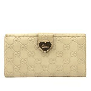 Auth Gucci Guccissima Heart Leather #N7094C30